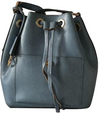 Michael Kors Blue Leather Handbags