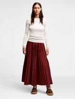 DKNY Sheer Pinstripe Pullover