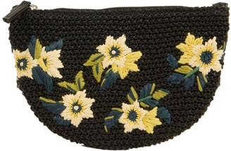 Sam Edelman Darcy Floral Embroidered Straw Bag