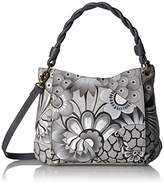 Anuschka Anna Handpainted Leather Women's Slim Bag