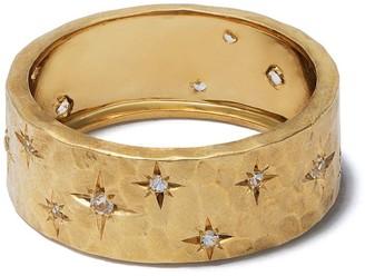 Feidt Paris 9kt yellow gold Soleil quartz ring