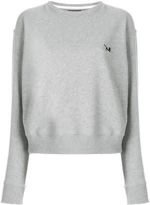 Calvin Klein embroidered logo sweatshirt