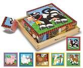 Melissa & Doug Farm Cube Puzzle - 16 Pieces