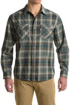White Sierra Coyote Creek Plaid Shirt - Cotton Blend, Long Sleeve (For Men)