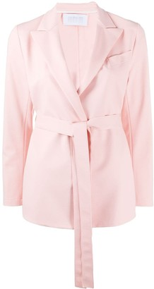 Harris Wharf London Belted Blazer Jacket