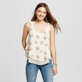 Mossimo Women's Woven Tank Floral Print
