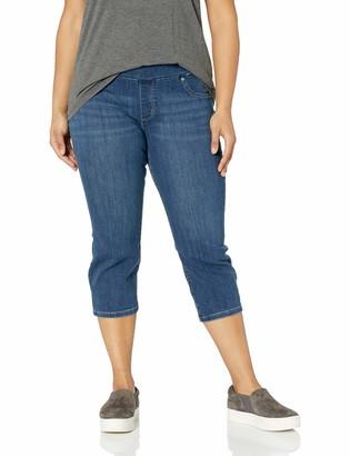 Lee Women's Plus Size Sculpting Slim Fit Pull-On Capri Jean