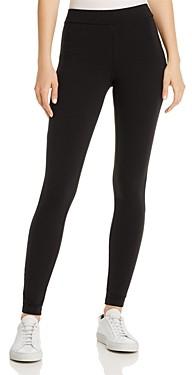 Hue High-Waisted Blackout Cotton-Blend Leggings