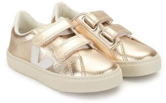 VEJA KIDS Esplar metallic sneakers