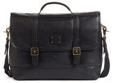 Cole Haan Men's Leather Messenger Bag - Black