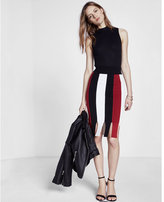 Express Slit Hem Midi Skirt