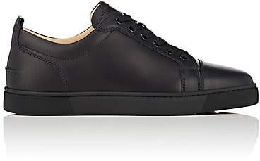 013b80d7484 Men's Louis Junior Flat Leather Sneakers - Black