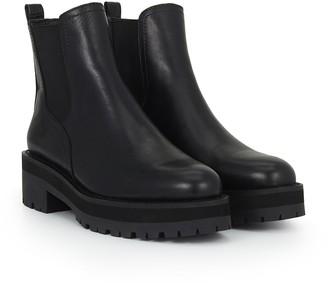Justina Lug Sole Chelsea Boot