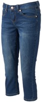 Seven7 Women's Skinny Capri Jeans