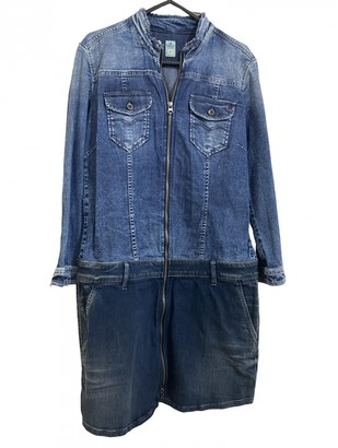 Replay Blue Denim - Jeans Dress for Women
