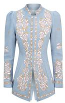 Andrew Gn Floral Embroidered Jacket