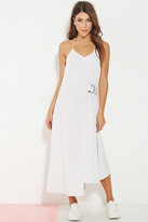 Forever 21 FOREVER 21+ Minty Meets Munt Utility Maxi Dress