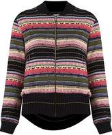 Cecilia Prado stripped pattern knitted jacket