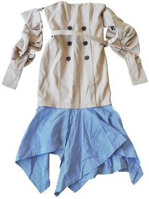 Jonathan Simkhai Beige Cotton Dresses