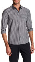 Kenneth Cole New York Stripe Stretch Tailored Fit Shirt