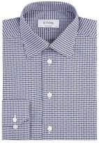 Eton Gingham Print Shirt