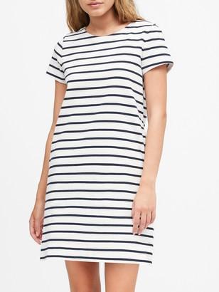 Banana Republic Stripe T-Shirt Mini Dress