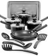 Farberware Cook's View 14 Piece Cookware Set with 2 BONUS Cookie Pans