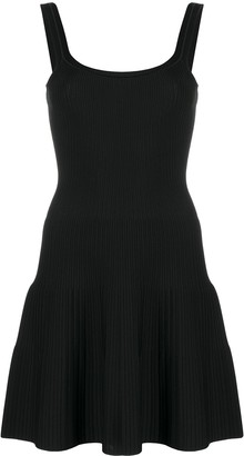 Theory Ribbed Mini Dress
