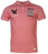 Soulcal Birds Eye Logo Polo Shirt Mens