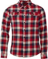 Firetrap Mens Albert Long Sleeve Shirt Navy/Red