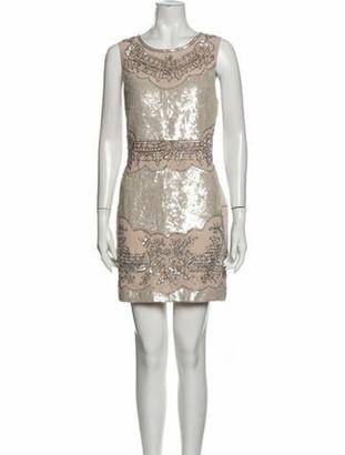Needle & Thread Lace Pattern Mini Dress w/ Tags