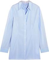 MM6 MAISON MARGIELA Striped Cotton-poplin Shirt - IT44