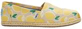 Toms Alpargata Flat Slip On Espadrilles, Yellow