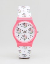 Asos Novelty Unicorn Print Watch