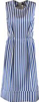 Marni Striped satin dress