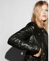 Express star quilted (Minus the) leather jacket