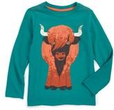 Tea Collection Toddler Boy's Heeland Coo Graphic T-Shirt