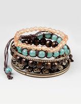 Full Tilt Bead & Bangle Bracelet Set