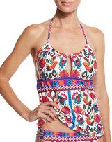 Nanette Lepore Antigua Honey Tankini Swim Top, Multi