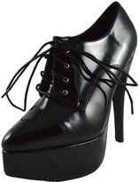 ELLIE Women's 6.5 Inch Stiletto Heel Oxford (;)