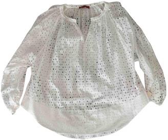 Tamara Mellon White Cotton Top for Women