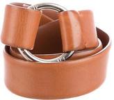 Loro Piana Leather Wrap Belt