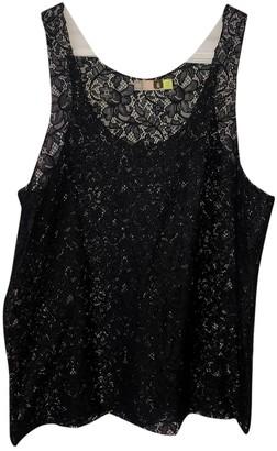 MSGM Black Lace Tops
