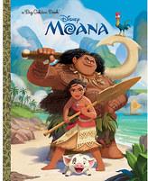 Disney Moana Big Golden Book