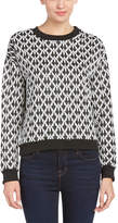 Lucca Couture Intarsia Sweater