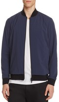 Theory Stretch Nylon Bomber Jacket