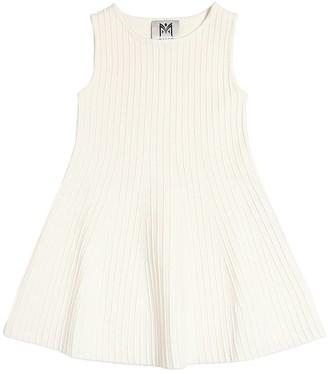 Milly COTTON BLEND KNIT DRESS