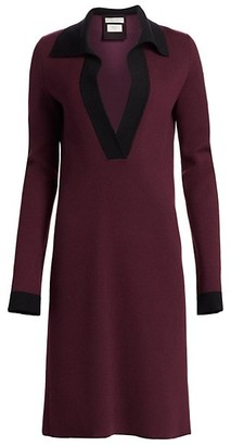 Bottega Veneta Cashmere-Blend Polo Dress