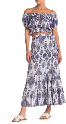 Raga Andrea Patterned Wrap Skirt