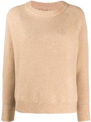 Max & Moi Raglan-Sleeved Sweater